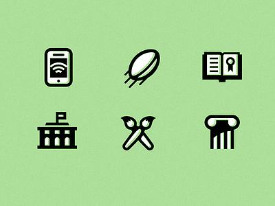 Community Icons community technology sports recreation arts culture web education icons ui icon