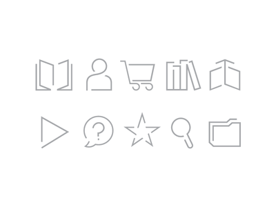 Condé Nast : Digital Storefront Icons