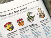 Fast Co. Magazine : Pro Sports