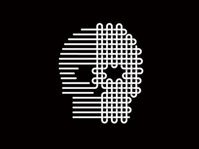 Tight Knit : Dead Threads knit black and white illustration skull dead threads halloween