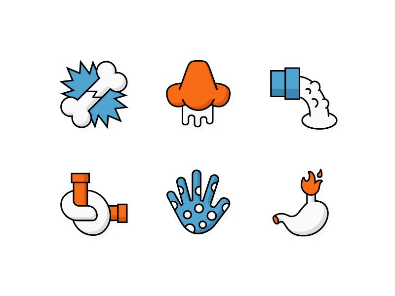 Mh   symptom icons