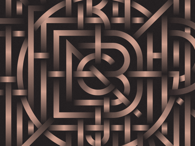 Alphabet Monogram wip alphabet monogram typography type lettering
