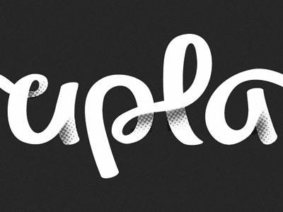 Logotype Script logo logotype branding identity script shading type typography custom type crop ligature halftone grey hand lettering wordmark michael spitz michaelspitz