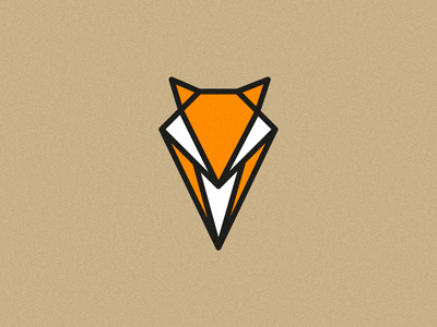 FOX mapping mark logo branding identity geometric animal pin marker location michael spitz michaelspitz fox