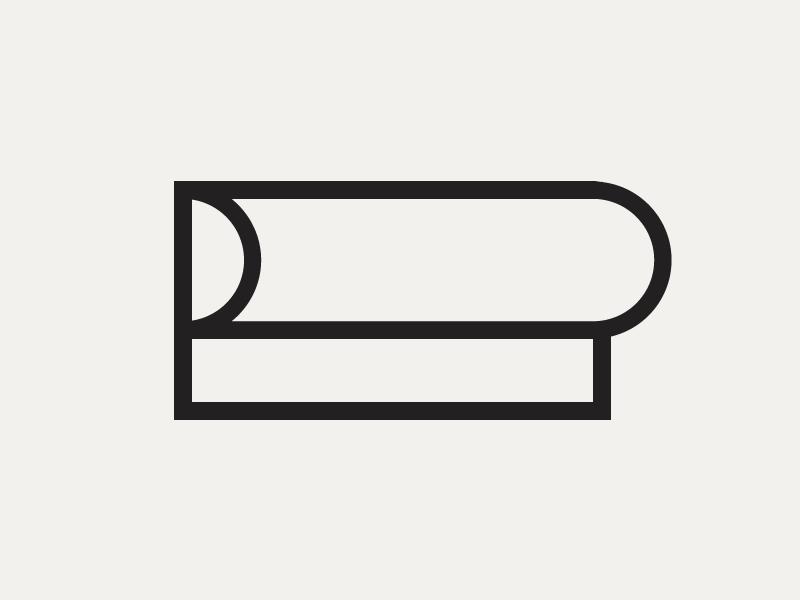 PPress apparel fashion p pp extruded branding identity logo print printing press press