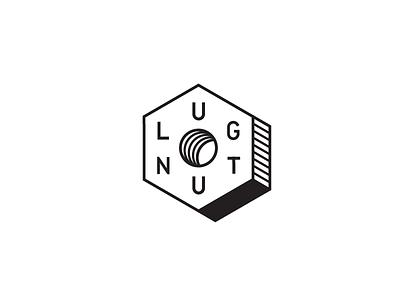 Lug Nut - V2 typography type tool mark machining lug nut logo identity branding bolt
