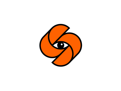 Soothsayer wip branding identity monogram seer eye mark logo s
