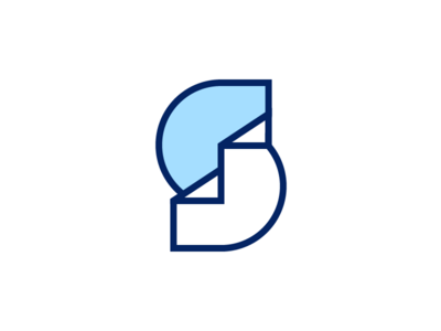 Step Tracker wip s architecture fitness steps illustration branding identity logo