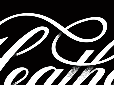 Heather Script custom type hand lettering wordmark ligature flourish script type typography logo logotype identity branding black and white lettering