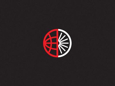 Global Cycling wheel tire earth globe cycling biking mark branding identity logo world spokes bike michael spitz michaelspitz