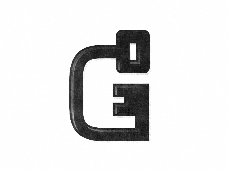 G Key michael spitz michaelspitz logo identity branding g key mark letter black and white