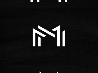 MM Monogram michael spitz michaelspitz m monogram logo identity branding mark black and white