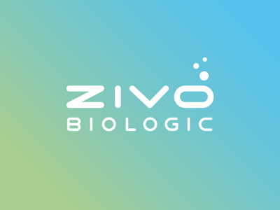 ZIVO BIOLOGIC logotype bubbles water green biotech health nutrition custom type type typography logo identity wordmark michael spitz michaelspitz