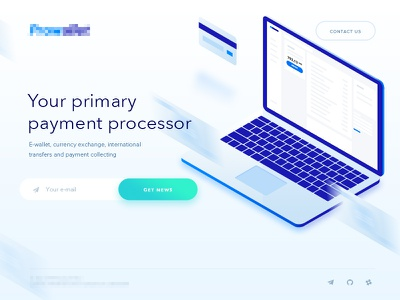 E-wallet main page style wallet currency exchange payment pay e-wallet