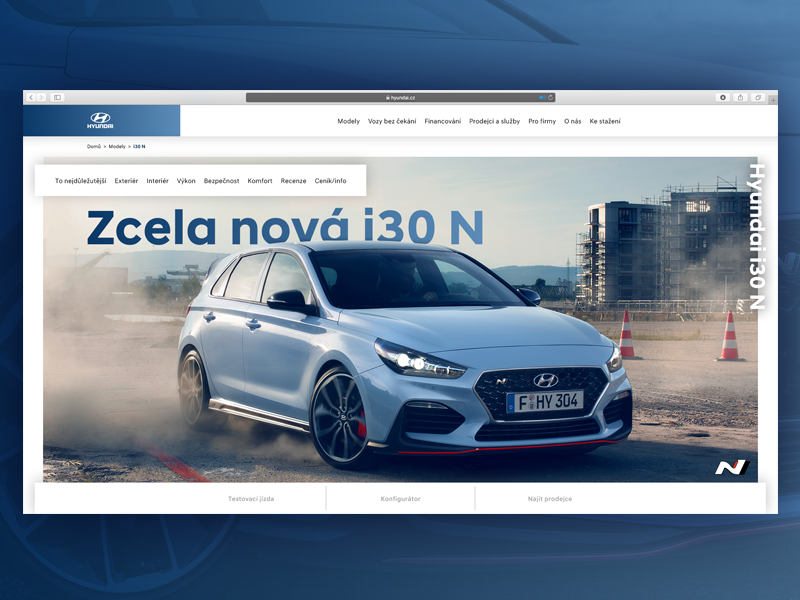 Hyundai I30 N Website Concept By Ivan Kebeles On Dribbble
