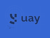 UAY - Logo design grid