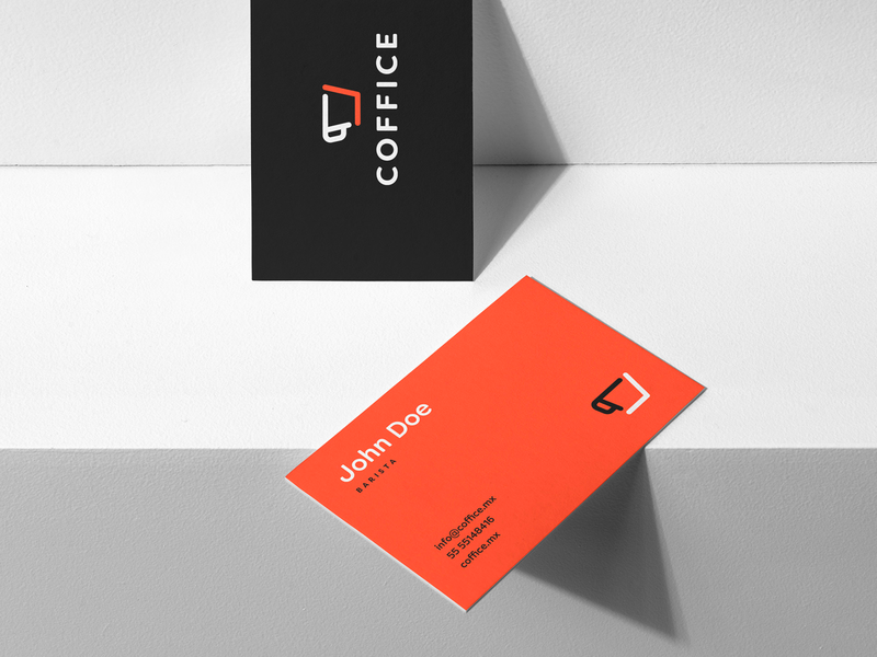 Coffice design smart by design mexico city coworking coffee cafe clever logo logo design branding system branding studio identity branding brand identity brand design branding identity design identity business card business cards