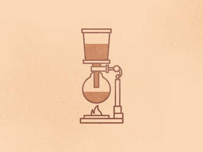Coffee siphon icon