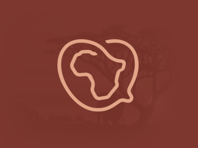 Love Africa hearth logo africa logo africa icon hearth icon icon brown african love hearth africa smart logos smart logo