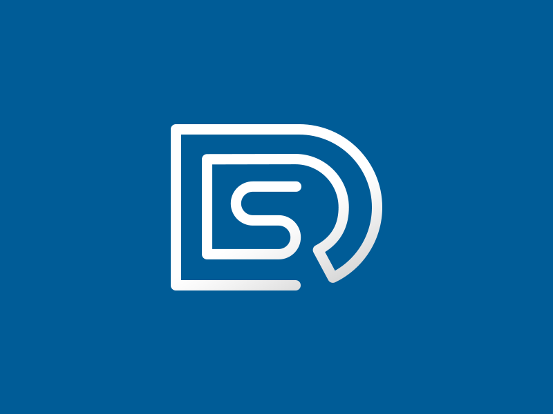 DRS Icon business logo corporate logo blue logo it icon it logo s icon r icon d icon clever logos smart logos smart logo clever logo
