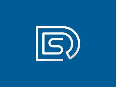 DRS Icon business logo corporate logo blue logo it icon it logo s icon r icon d icon clever logos smart logos smart logo clever logo