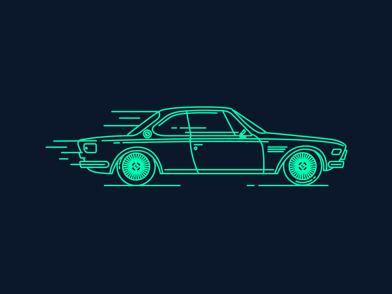Retro BMW e9 graphic design car icon retro car retro old car bmw car bmw e9 e9 icon car bmw stickers