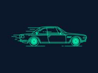 Retro BMW e9