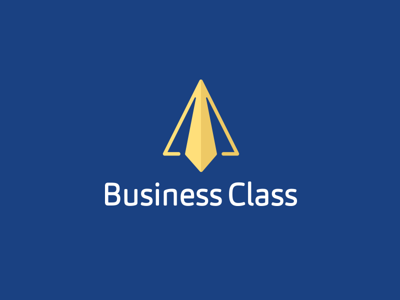 Business Class plane icon smart icon creative tie paper plane plane business logo clever logos clever logo smart logos smart logo