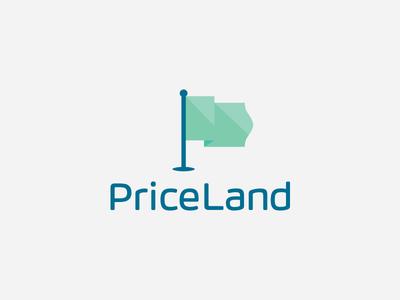 Price Land Logo Design