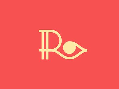 R+Eye red logo r icon logo design logo eyes eye r smart logos