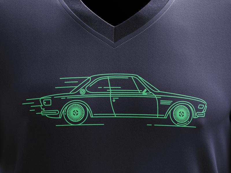 BMW E9 T-Shirt graphic design car icon retro car retro bmwtshirt bmw car tshirt bmw car icon e9 bmw e9