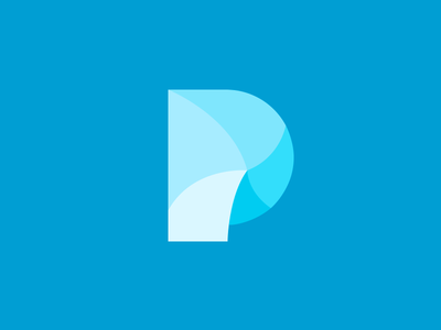 P Swirl leo logos smart logos icon p blue graphic design p icon logotype logo design logos swirl
