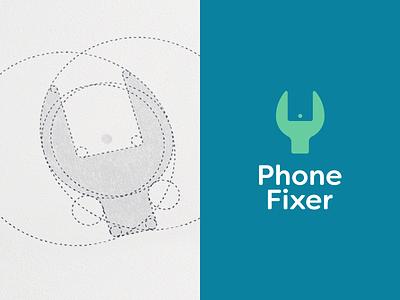 LOGO GRIDS fix smartphone collection behance leo logos design logos logo structure logo grid design grid grid