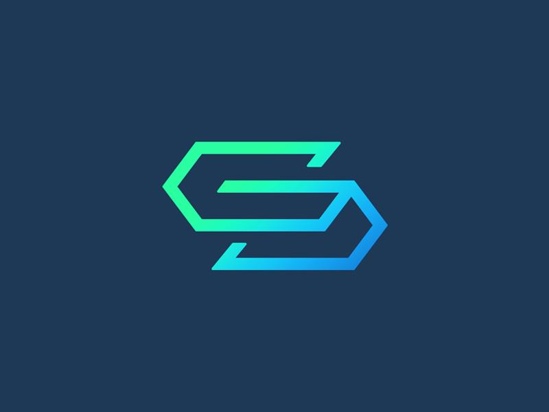 S g by smart logos logo designer dribbble for Design company singapore