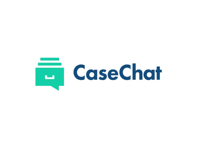 CaseChat idea designs logo design logo smart logo locker chat chat bubble