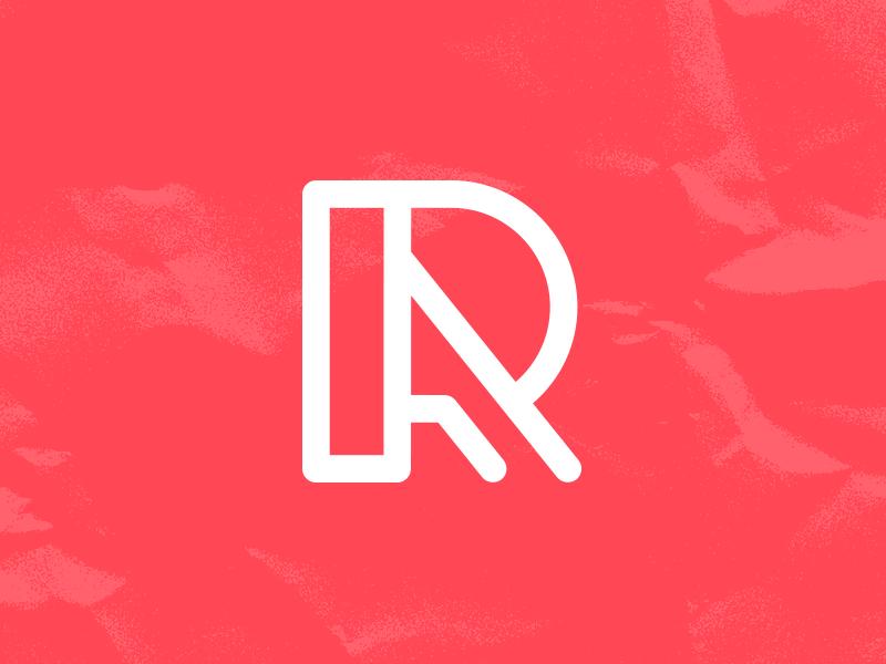 RA Monogram r icon a logo a icon r logo monogram letters ra a r logo design