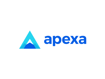 A Logo identity branding a icon logo design a smart logo pick apex a letter mountain