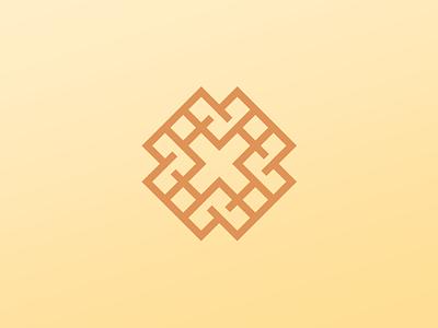 X Waffles identity branding logo icon smart icon smart logo dessert x waffles waffle food logo