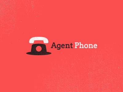 Agent Phone logo leo all4leo phone hat agent clever logo icon secret logo agent logo iconic logo iconic smart logo hat logo startup logo it designer phone logo