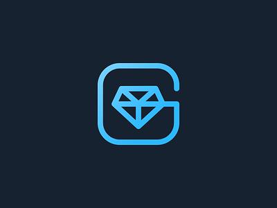 Gambling Logos smart logo leologos branding leo logos identity gem stone gem casino logo gambling