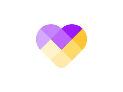 CardioTest Logo v2 check icon heart icon logo icon logo design smart blocks icon logo check heart