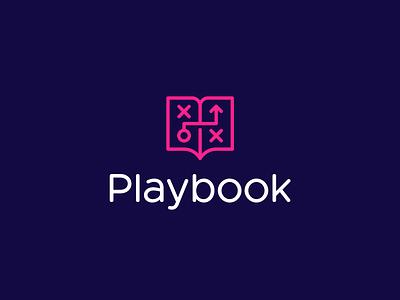 Playbook Logo Project logo idea minimalistic logo logo designer logo icon smart logos design project book fitness sport app sport branding identity icon design logo pink logo play logo project logo design playbook