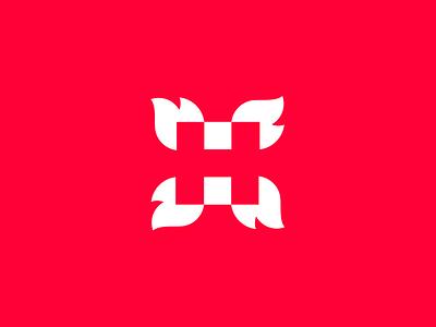 🔥HOT! flame creative h logo h hot logotype colorful logo icon clever logo logo designer smart logos negative space identity icon design branding smart logo logo logo design 🔥