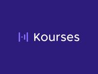 Kourses Logo Design