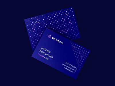 Blockchain Business Cards corporate identity smart logos logo design logo designer icon logo connect connected brand blue mockup pattern print business card cards identity branding crypto cards crypto blockchain