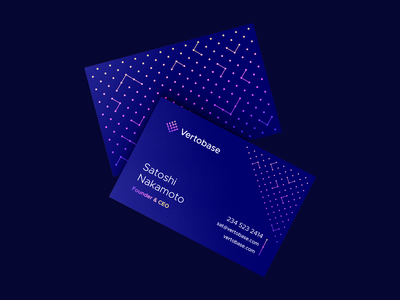 Blockchain Business Cards