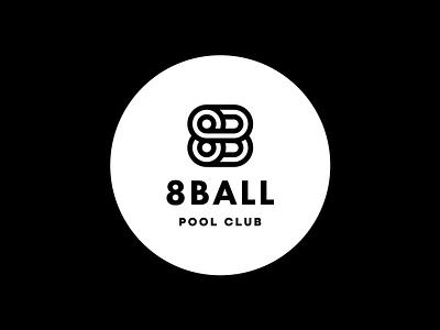 8 Ball Pool Club creative logo icon logo designer clever logo branding identity icon design smart logo logo logo design ball black b 89 billiards billiard pool club pool 8 ball