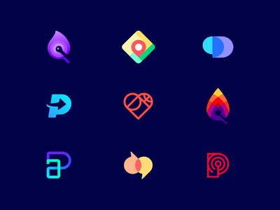 TOP9 SMART LOGOS OF 2018 branding clever logo colorful identity design gradient identity logo designers logo design logo designer logo icon negative space smart logo smart logos top top2018 top9 top 9 topnine top works