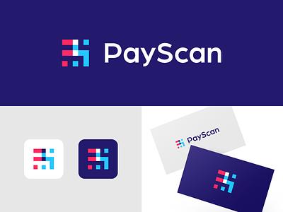 PS Monogram ps monogram logo designer colorful creative smart logos clever logo icon design smart logo logo logo icon branding scan scanner identity logo design fin tech fintech