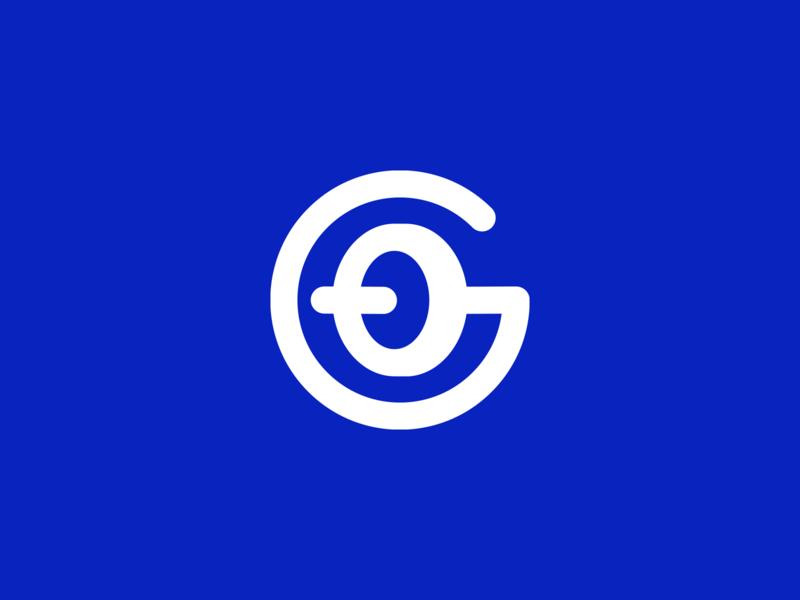 Gym Logo design smart logos creative blue logo designer logo icon clever logo identity g icon g logo g logo smart logo logo design branding sport logo barbell gym logo blue logo gym